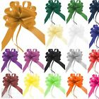 Large Pull Bows 50mm Wedding Car Gift Wrap Party Florist Poly Ribbon