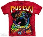 by the Mountain Pug Luv  Quality TShirt Design by Dean Russo
