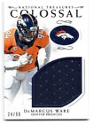 DeMARCUS WARE COLOSSAL JERSEY RELIC 24/99 SP + 2016 ABSOLUTE FOOTBALL PICK'EM image