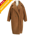 Coat Women Teddy Bear Feel Oversized Faux Fur ( Hot Quality ) Female