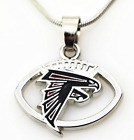 Charms Pendants Necklace Sports Sterling Silver Jewelry Football Dallas Atlanta on eBay