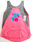 Girls Cat & Jack Athleisure You Can Do It Tank Top Pink/Gray Sizes M, L, XL A024