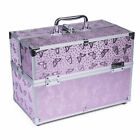 Butterfly Design Beauty Cosmetic Make Up Vanity Case Nail Jewelry Storage Box
