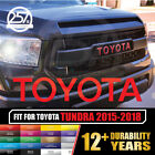 NEW TOYOTA TUNDRA TRD PRO Grille Letters Decal 2015 16 17 18 19 Grill Sticker on eBay