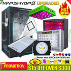 Mars Hydro Led Grow Light Veg Flower Plant +Indoor Grow Tent Kit Comb Multi-size