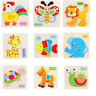 wooden fish puzzle - Multi-style Wooden Animal Puzzle Educational Developmental Children Training T