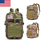 Marching Outdoor Tactical Backpack FK9252 40L 900D Camping Travel Bag Camo US