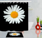 """72X72"""" Marked Isolated on black Shower Curtain Black and White Bathroom Decor"""