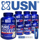USN Pure GF1 4 Stage Lean Low Carb Muscle Protein Shake - 1kg / 2.28kg FREE P&P