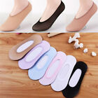 10Pairs Women Invisible No Show Nonslip Loafer Boat Liner Low Cut Cotton SocksKZ