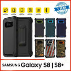Galaxy S8 Plus Case | Screen Protector Belt Clip Fits Otterbox Defender Series