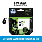 HP 62XL High-Yield Single Ink Cartridge (Black or Color), Retail Box EXPIRE 2020