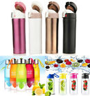 500-700ML Water Bottle Vacuum Insulated Flask Thermal Sport Chilly Cold Cups DD