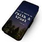 Movie Quotes - Peter Pan - Faux Leather Flip Phone Case #2 - Kids Motivational