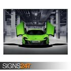 MCLAREN 650S (ZZ014)  CAR POSTER - Photo Picture Poster Print Art A0 A1 A2 A3 A4