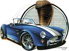 Shelby Ford AC Classic Cobra Hot Rod Car 100% Cotton T-shirt Small to 5XL