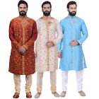 Ethnic Men's Indian Bollywood Kurta Sherwani 2pc Suit (Worldwide Postage)
