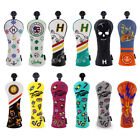 Hybrid Golf Headcover UT Cover interchangeable for Taylormade Callaway Titleist
