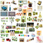 Dolls House Miniature Scaled Model Mini Fairy Garden Tools Accessories Decor DIY