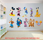 Mickey Mouse Clubhouse Minnie Disney Kids Bedroom Vinyl Decal Wall Art Sticker