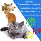20/40XSimple Pet Dog Cat Kitten Paw Claws Control Nail Cap Cover Soft Rubber Nsr