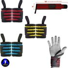 Wrist Wrap Weight Lifting Training Workout Wrist Strap Support Thumb Grip 18""