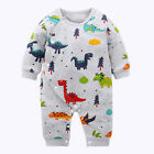 Cute Dinosaurs Cartoon Baby Costume Newborn Infant Toddlers Boy Romper Clothing