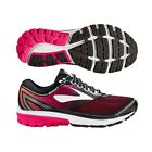 Brooks Ghost 10 Womens Road Running Shoes, Pink/Black/Coral