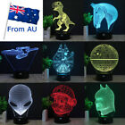 Star Trek Star Wars3D Table Desk Lamp Acrylic LED Night Light 7 Color Xmas Gift on eBay