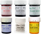 Sugarflair EXTRA Concentrated Food Colouring Paste - Maximum Strength Cake Su...