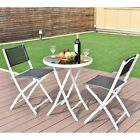 Travel Camping Folding Garden Backyard Table Chairs Set In/outdoor Furniture Us