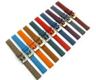Super Soft Cow Hide Leather Watch Band by Condor 348R 12mm 14mm 10 Colors!