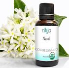 USDA Organic Neroli Essential Oil - 15ml, 30ml, 50ml, 100ml 100% Pure