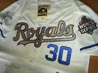 BRAND NEW Kansas City Royals 30 Yordano Ventura Throwback memory Jersey White