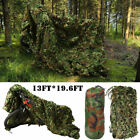 Woodland Camouflage Net Hunting Camping Camo with String Netting Backing US SALEBlind & Tree Stand Accessories - 177912