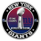 New York Giants Super Bowl Championship Sticker, NFL Decal 8 Differen Sizes