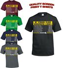 IF YOUR CAR SOUNDS LIKE T-Shirt/Mens Funny Mechanic Top, Gift for Dad Him Print