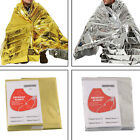 1/3/5 New Emergency Survival Blanket Foil Thermal Hiking Rescue Kit Tool Outdoor