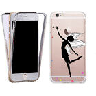 ShockProof 360 Silicone Case Cover for most mobiles- TPU sparkle fairy