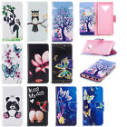 2018 NEW Beautiful Pattern Magnetic PU Leather Stand Card Wallet Case For Phones