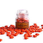 A Bottle of Star Sealing Wax Beads for Stamp Envelope Seal 100pcs Blood Red