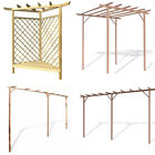 Garden Patio Wooden/WPC Pergola Fit for Flowers Climber Plant 4 Choices