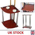 Wooden Pool Snooker Billiard Corner Cue Rack Stick Stand Holder - holds 8 Cues