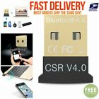 Mini USB Bluetooth 4.0 CSR4.0 Adapter Dongle for PC LAPTOP Receiver Win HP Dell
