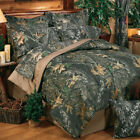 Camouflage Bedding Set Mossy Oak New Break Up Comforter Bed In Bag Add Drapes &