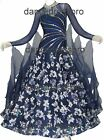 #2892 Ready-made Ballroom Modern Waltz Tango Dance Dress