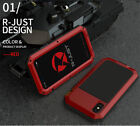Rugged Full Coverage Heavy Duty Aluminum Armor Case for i Phone Shockproof Cover