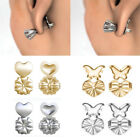 4Pcs Magic Earring Backs Lifter Support Lifts Hypoallergenic Sliver Gold Fashion image