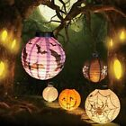 6 Styles Halloween Paper Pumpkin Hanging LED Lantern Holiday Party Home Decor