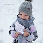Внешний вид - Winter Neck Warm Scarf Children Baby Boy Girls Cute Animal Knitted Rabbit Scarf